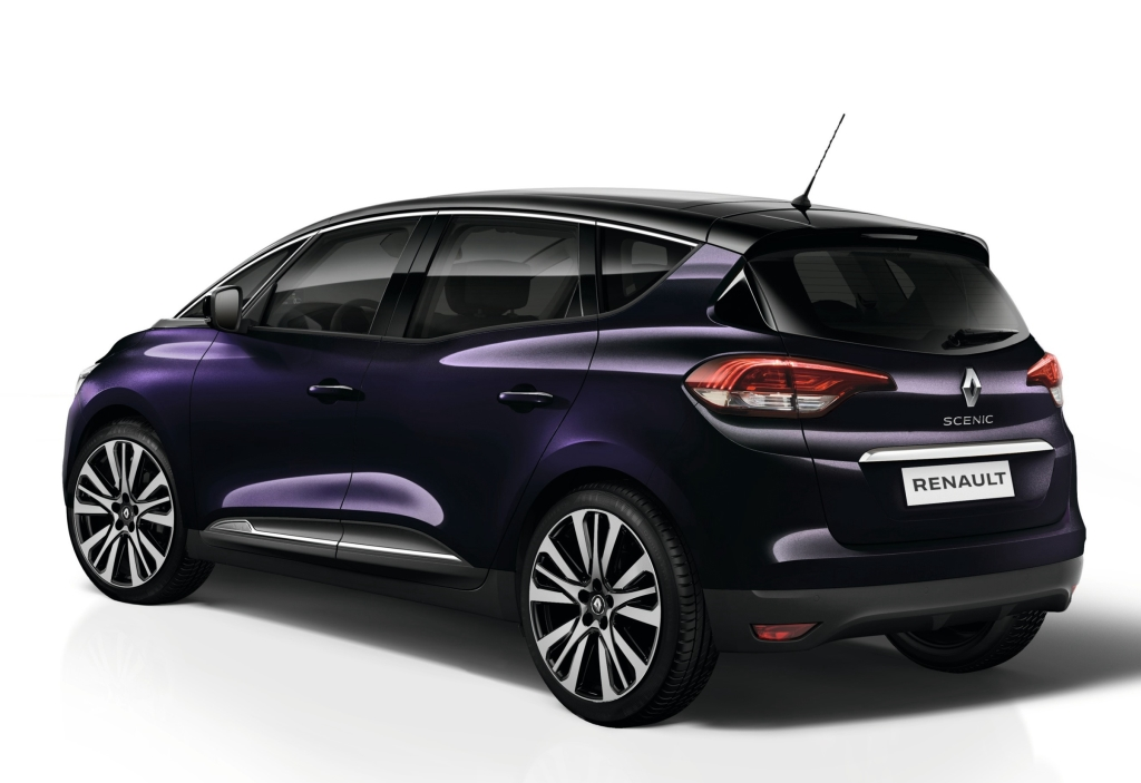 Official 2017 Renault Scenic Initiale Paris