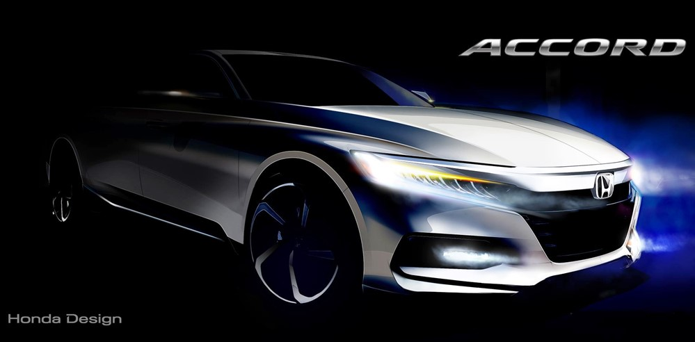 2018 Honda Accord at 2018 Honda Accord Confirmed for July Debut
