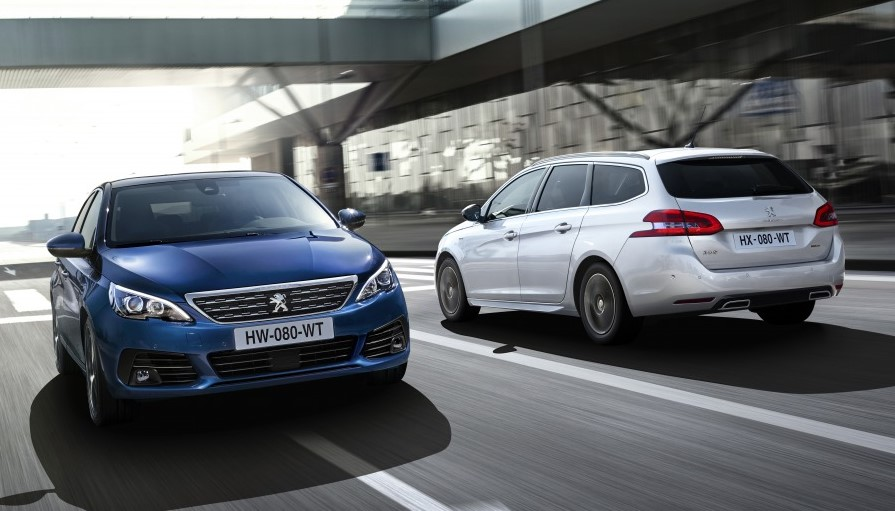 2018 Peugeot 308 0 at Official: 2018 Peugeot 308 and 308 GTi