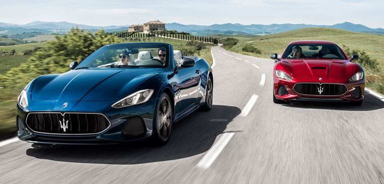 2018 granturismo at Official: 2018 Maserati GranTurismo and GranCabrio