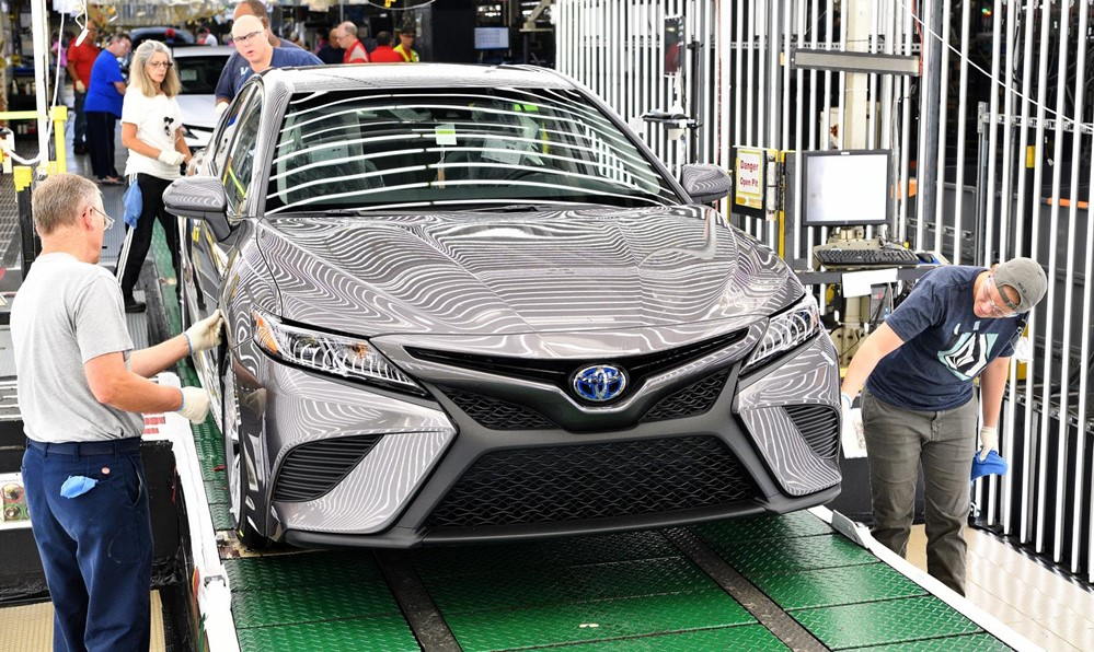 2018 Toyota Camry Lineoff at 2018 Toyota Camry Production Begins in Kentucky