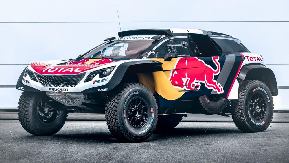 3008dkr maxi 0 at Official: Peugeot 3008DKR Maxi