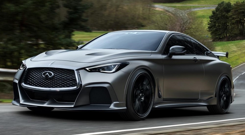 INFINITI Project Black S 0 at Pirelli Joins Infiniti Project Black S