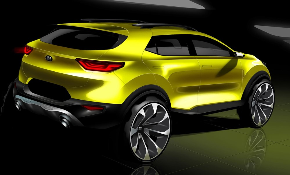 Kia Stonic 2018 at 2018 Kia Stonic Revealed in Official Renderings