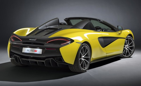 McLaren 570S Spider 0 600x365 at Official: McLaren 570S Spider