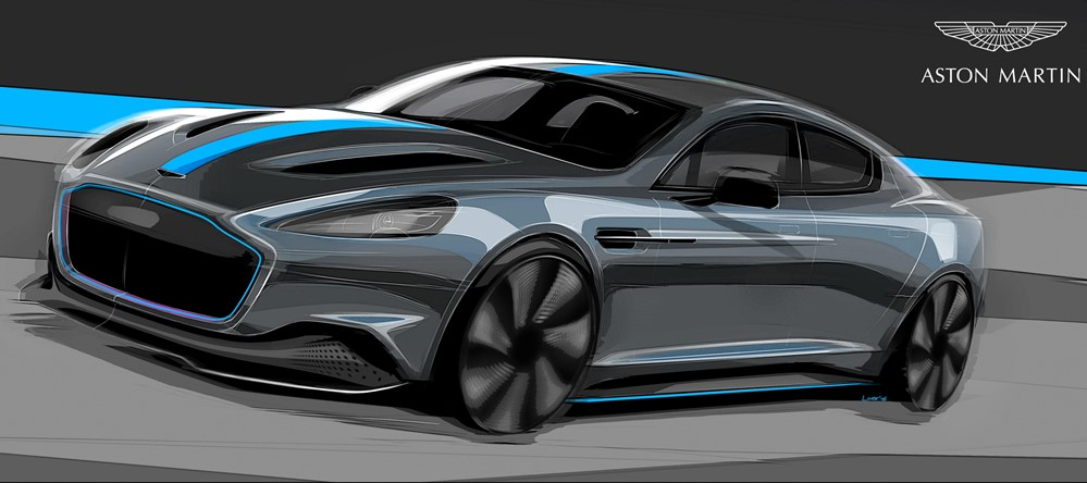 RapidE 01 at Electric Aston Martin RapidE Confirmed for 2019 Production