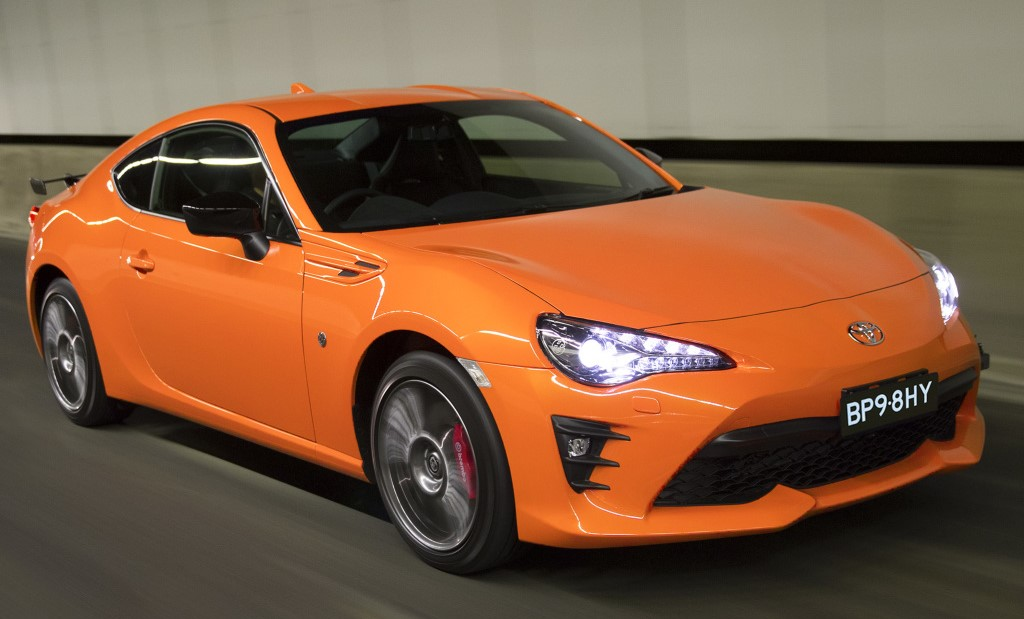 Toyota 86 Limited Edition 1 at Australia Gets Exclusive Toyota 86 Limited Edition