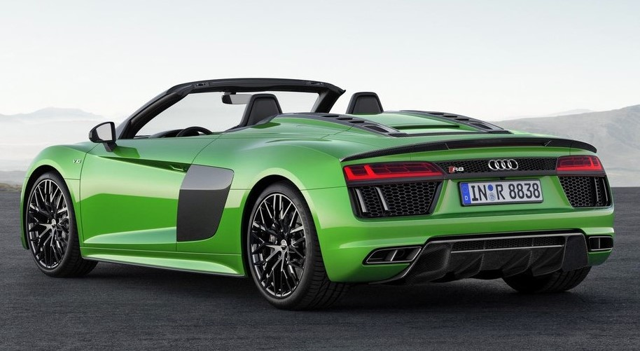 official 2018 audi r8 spyder v10 plus. Black Bedroom Furniture Sets. Home Design Ideas