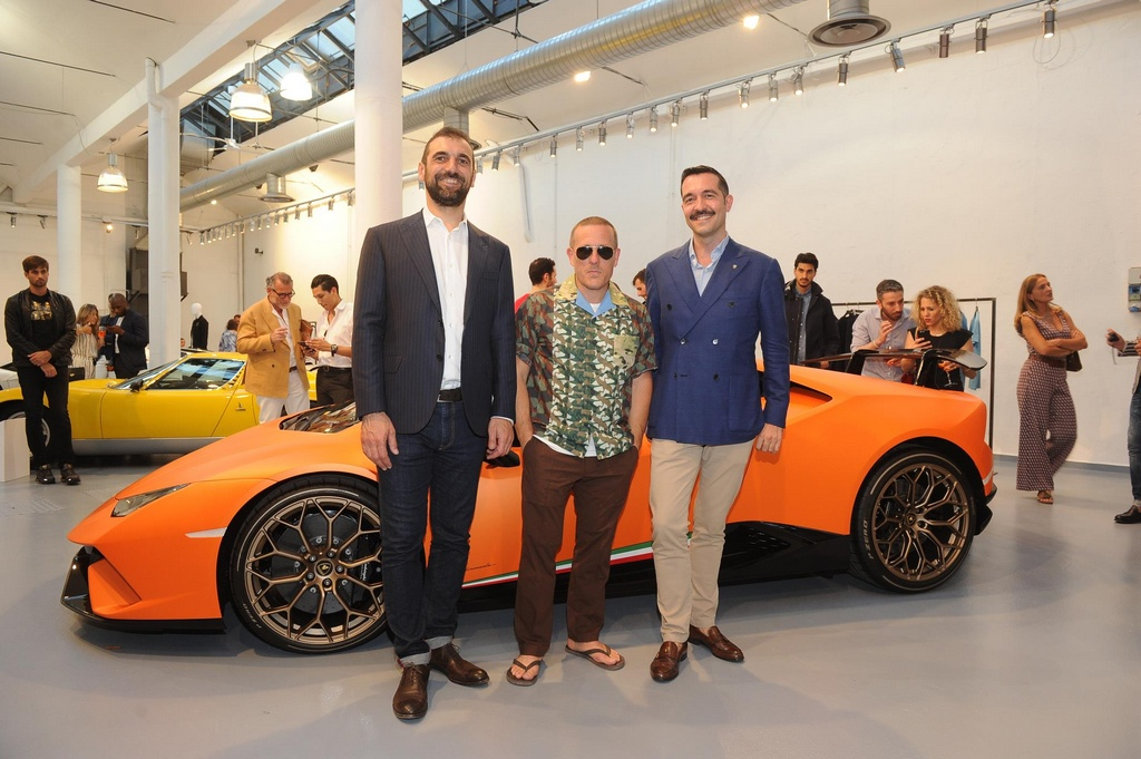 lambo collection 2018 0 at Lamborghini 2018 Spring Summer Collection Presented in Milan