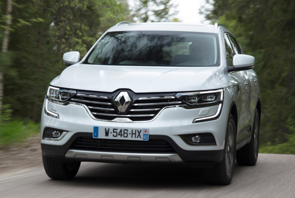 renault koleos initiale paris 1 at Official: 2017 Renault Koleos Initiale Paris