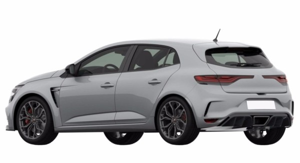 2018 Renault Megane RS leak 600x325 at 2018 Renault Megane RS   First Leaked Photos