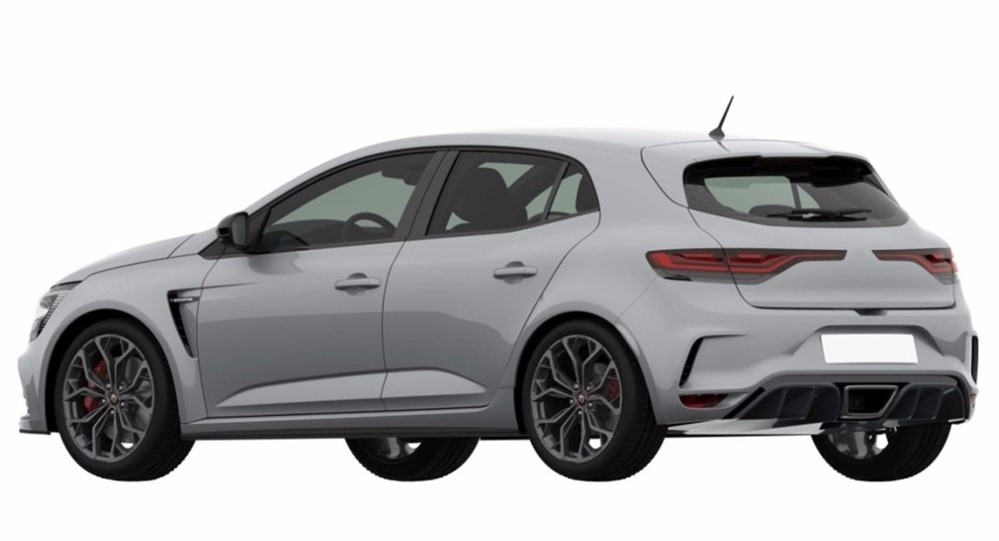 2018 Renault Megane RS leak at 2018 Renault Megane RS   First Leaked Photos