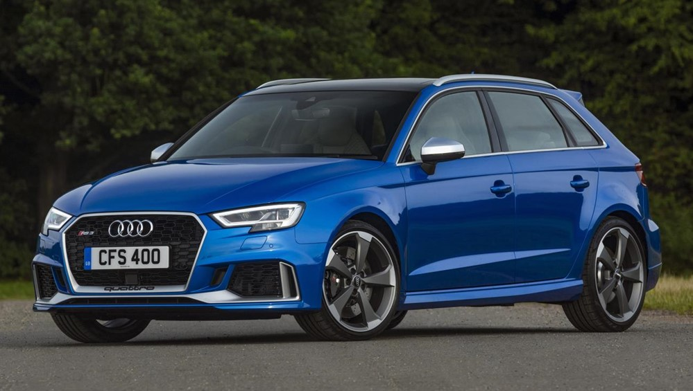 2018 audi rs3 1 at 2018 Audi RS3   UK Pricing and Specs