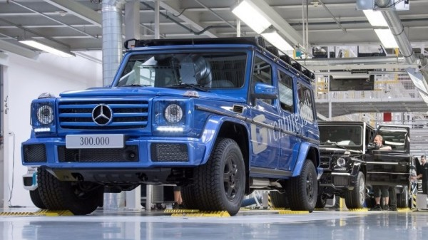 300000th g class 600x337 at 300,000th Mercedes G Class Produced