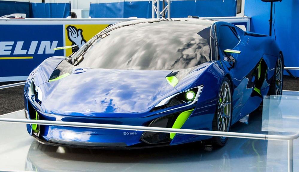 Boreas 1 at DSD Design Boreas Hypercar with 1000 hp
