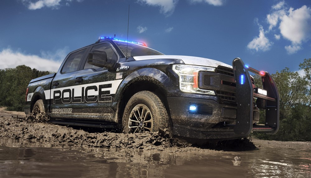 Official 2018 Ford F 150 Police Responder