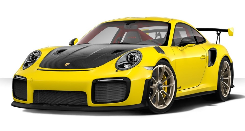 2018 Porsche Gt2 Rs Gets Thorough Online Customizer