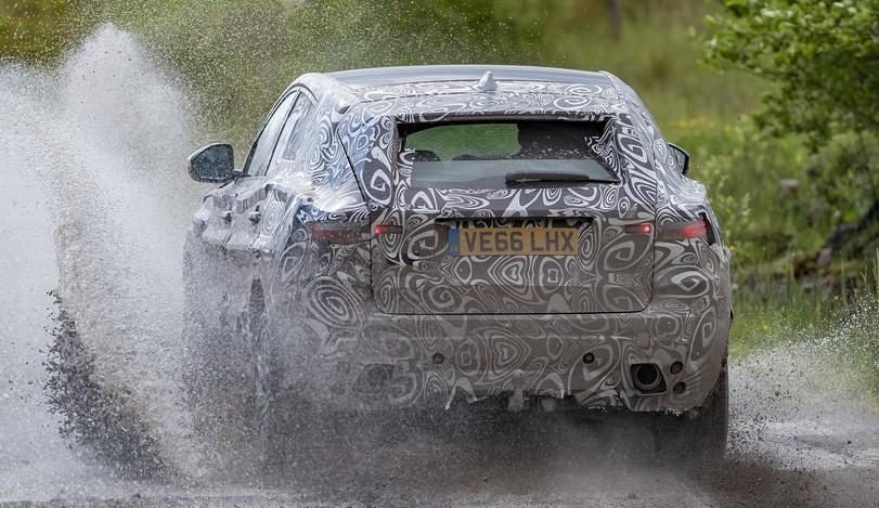 jaguar e pace teaser at Jaguar E Pace Preview: Extreme Testing