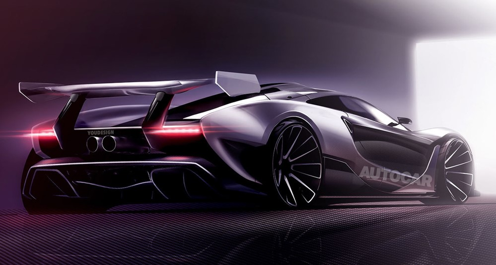 mclaren p15 render at McLaren P15 Hypercar Initial Details Revealed
