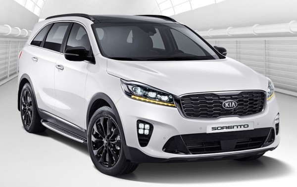 sorento facelift 2018 600x378 at 2018 Kia Sorento Facelift Launches in Korea