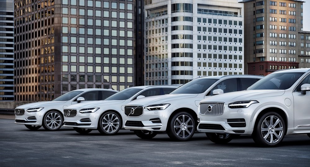 volvo range at All Volvo Cars to Get an Electric Motor from 2019