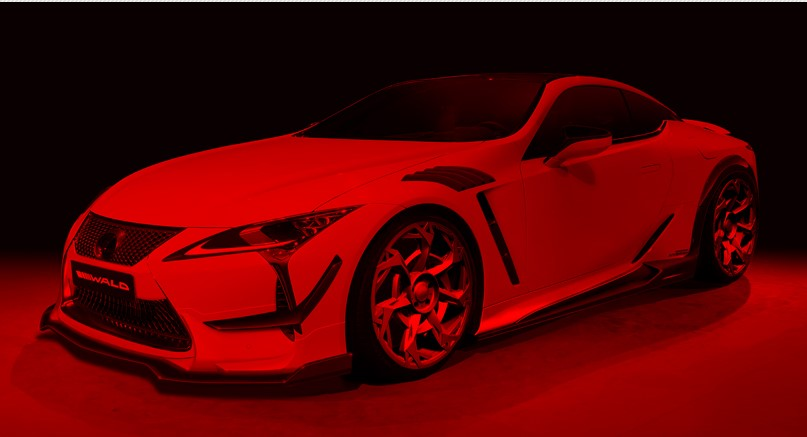 wald lexus lc at Wald Lexus LC 500 Styling Kit Preview