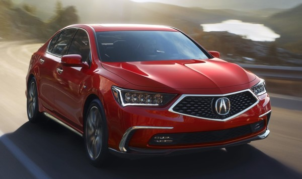 2018 Acura RLX 0 600x355 at Official: 2018 Acura RLX