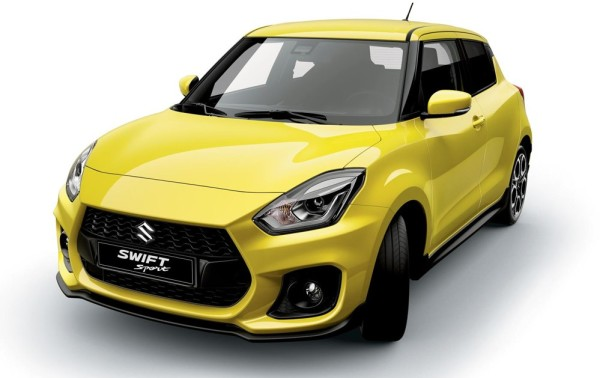 2018 Suzuki Swift Sport 1 600x378 at 2018 Suzuki Swift Sport Confirmed for IAA Debut