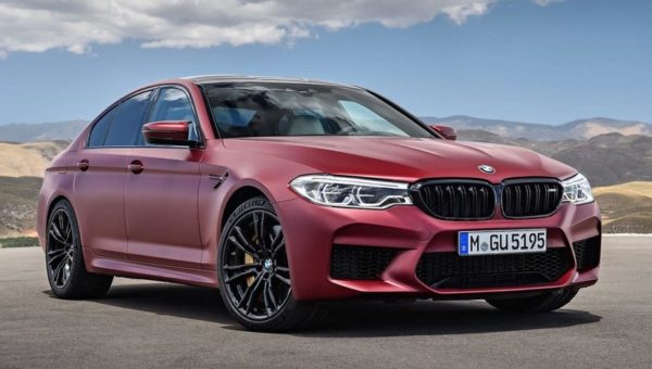 2018 bmw m5 0 600x340 at Official: 2018 BMW M5 xDrive Specs, Price, Details