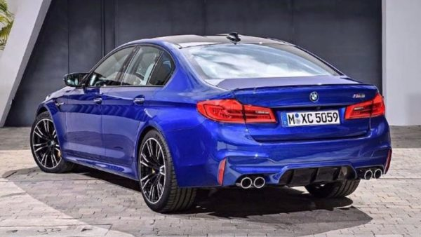 2018 bmw m5 leak 600x338 at 2018 BMW M5 Leaks Early
