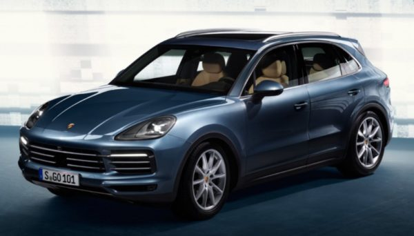 2018 cayenne leak 1 600x342 at 2018 Porsche Cayenne Leaked Early Look