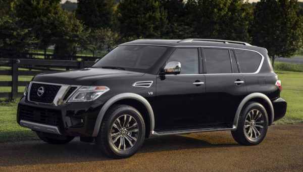 2018ArmadaPlatinum 01 600x342 at 2018 Nissan Armada U.S. Pricing and Specs