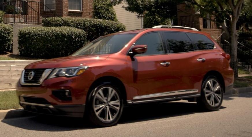 2018 Pathfinder Rear Door Alert 1 at Nissan Rear Door Alert Technology