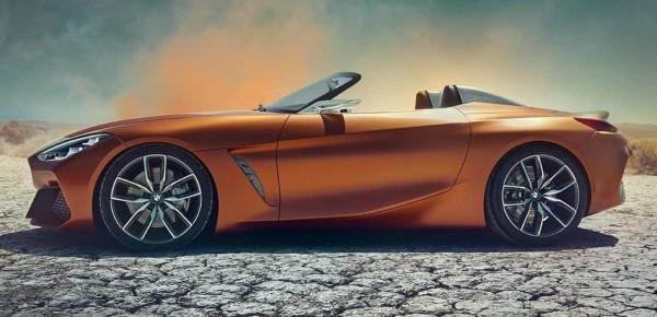 2019 bmwz4 concept 600x290 at 2019 BMW Z4 (Pebble Beach Concept) Leaks Online