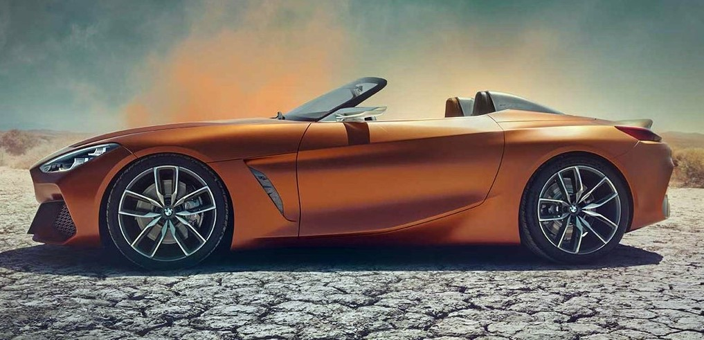2019 bmwz4 concept at 2019 BMW Z4 (Pebble Beach Concept) Leaks Online