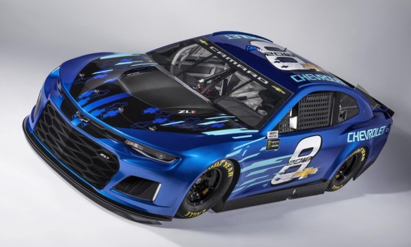 Camaro ZL1 NASCAR Cup 0 600x361 at Official: 2018 Camaro ZL1 NASCAR Cup Race Car