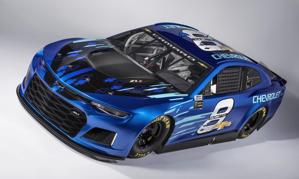 Camaro ZL1 NASCAR Cup 0 at Official: 2018 Camaro ZL1 NASCAR Cup Race Car