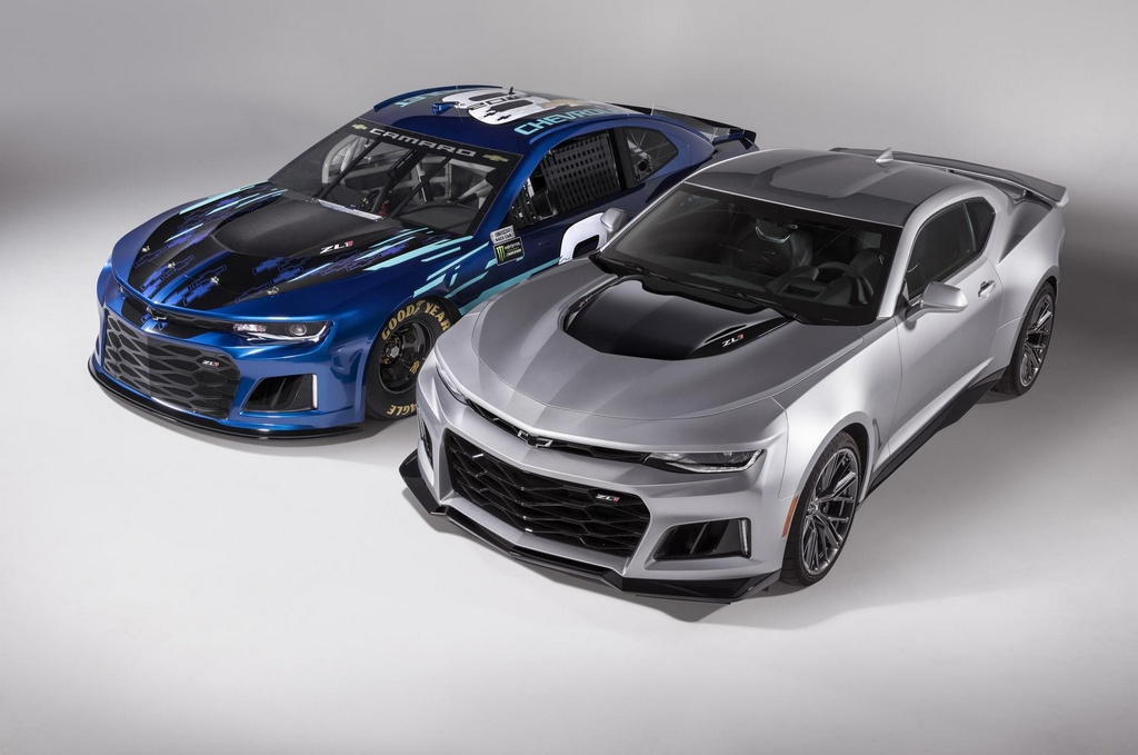Official 2018 Camaro Zl1 Nascar Cup Race Car