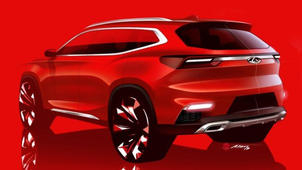 Chery IAA2017 1 600x338 at Chery Reveals Sketch of New Global Crossover