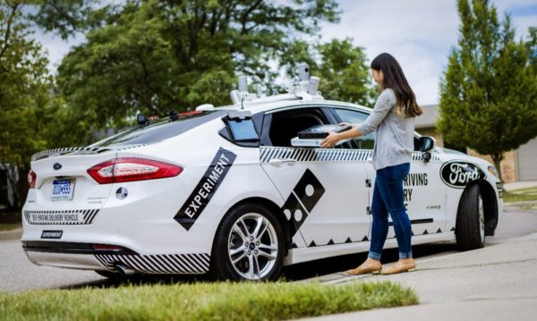 Ford Dominos AVResearch 04 600x359 at Ford and Dominos Working on Self Driving Pizza Delivery Cars