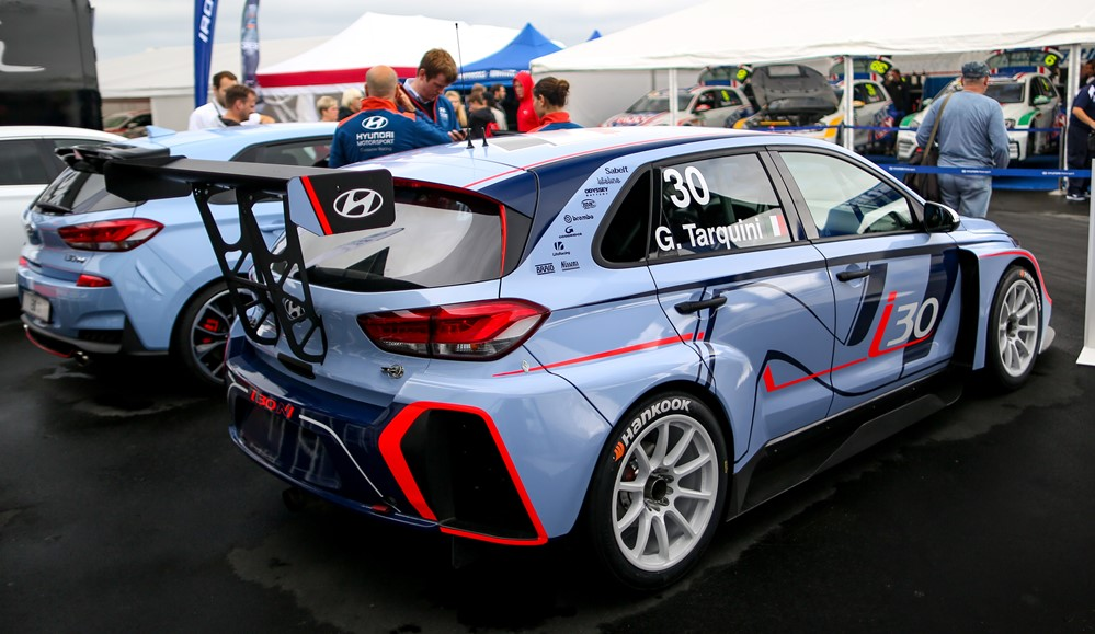 Hyundai i30 N TCR Nürburgring 5 at Hyundai i30 N TCR Customer Racing Car
