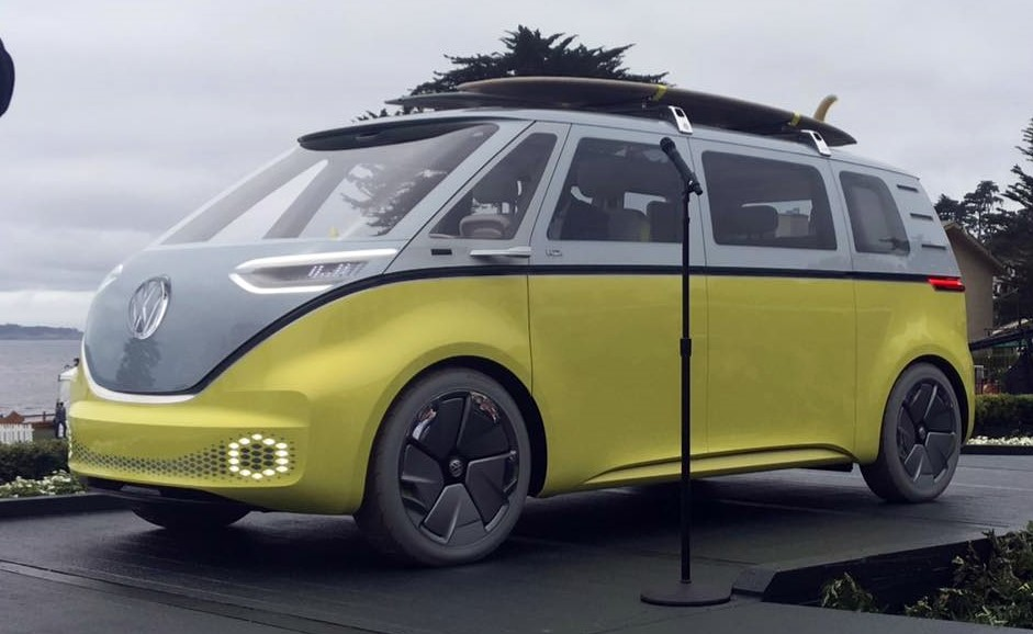 ID Buzz at 2022 VW ID Buzz Confirmed for Production