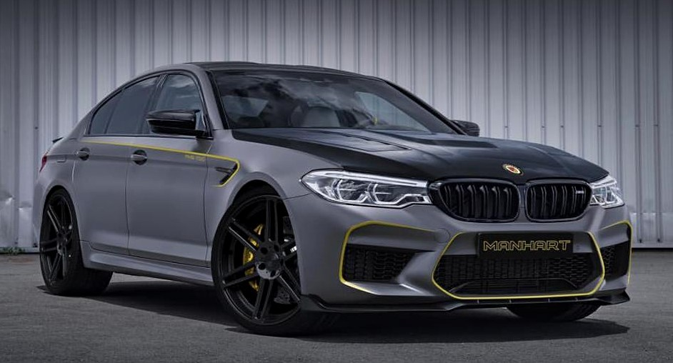 Manhart bmw m5 tuning at Manhart Previews 2018 BMW M5 Tuning Kit