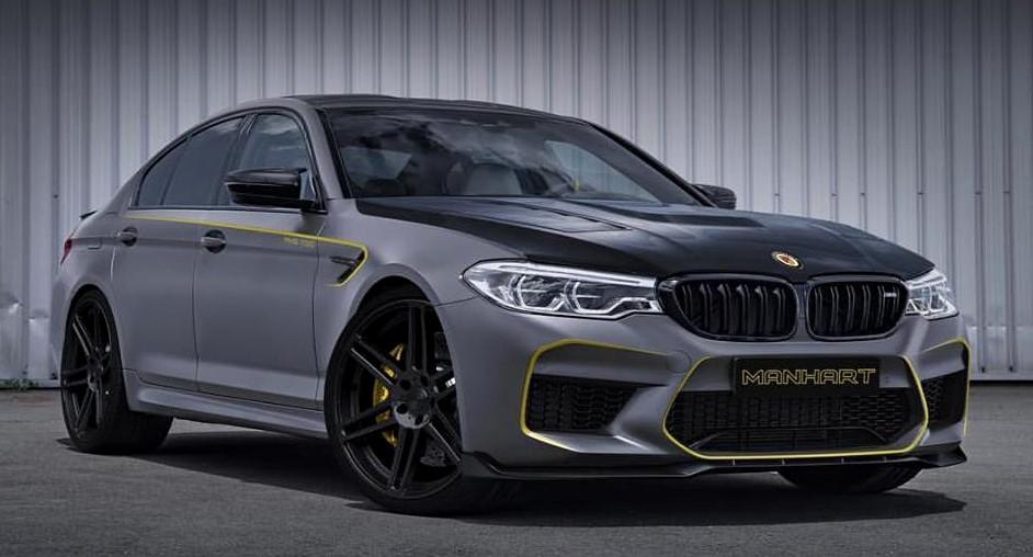 Manhart bmw m5 tuning at Manhart Previews 2018 BMW M5 Tuning Kit