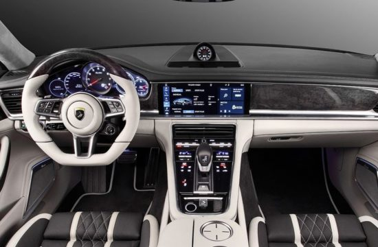 TopCar Panamera 2017 Interior 550x360 at 2017 Porsche Panamera Interior Upgrade by TopCar