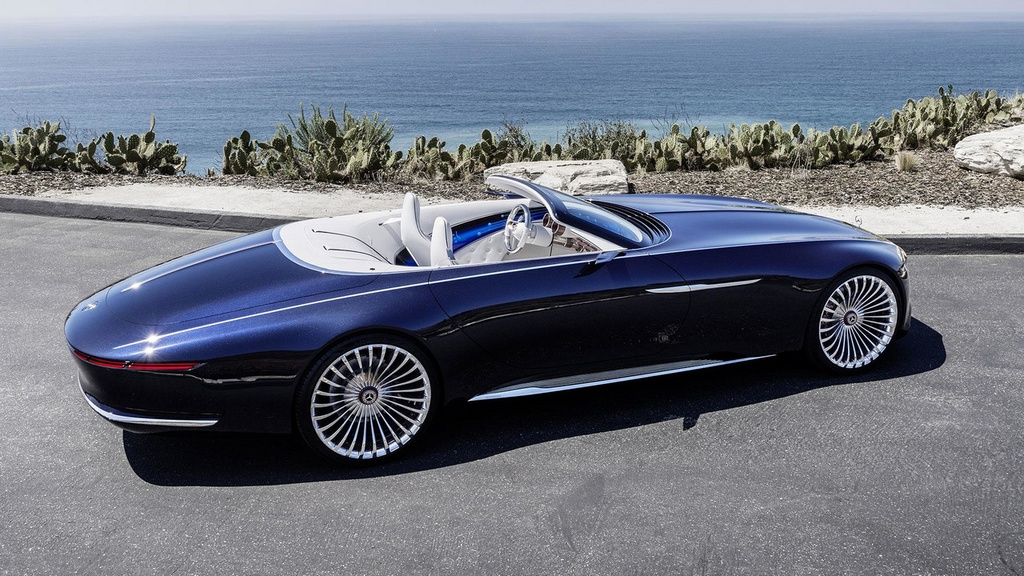 official vision mercedes maybach 6 cabriolet. Black Bedroom Furniture Sets. Home Design Ideas