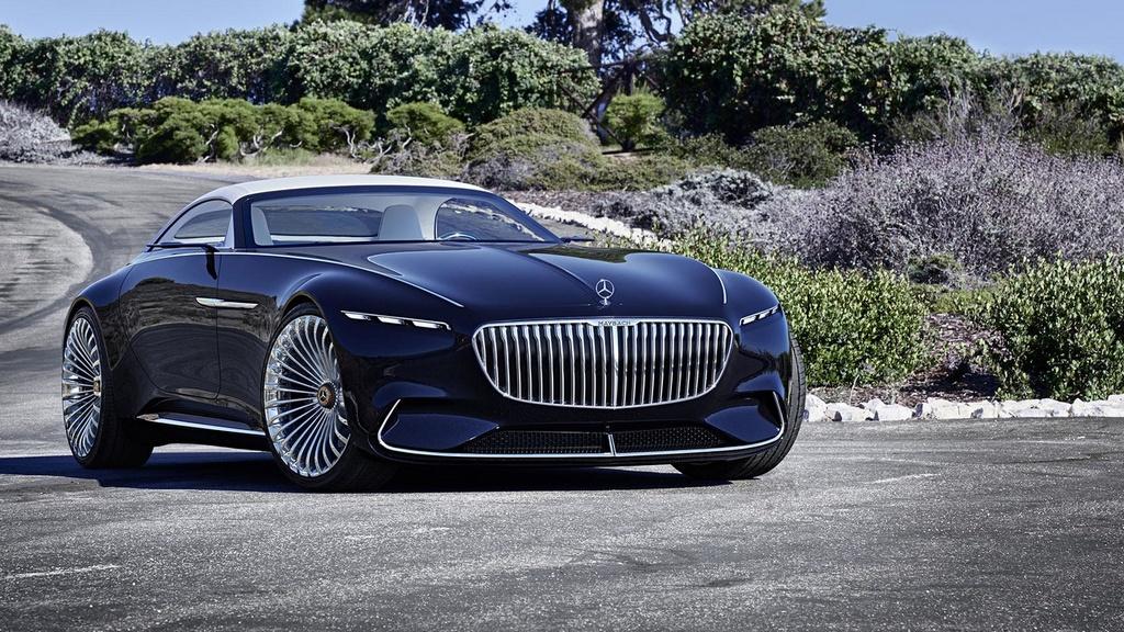 official vision mercedes maybach 6 cabriolet. Black Bedroom Furniture Sets. Home Design Ideas