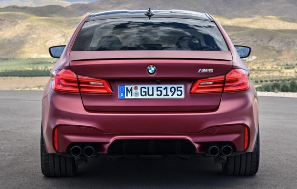 bmw m5 first edition 0 600x383 at 2018 BMW M5 First Edition Specs and Details