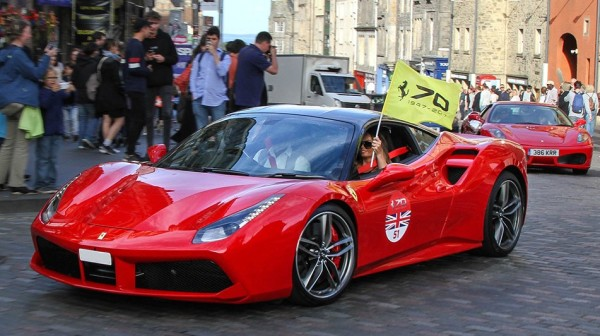 ferrari 70th edinburgh