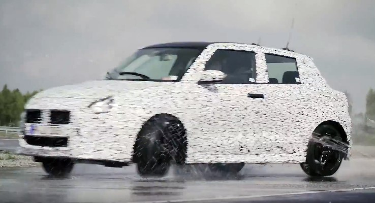 swift sport teaser at 2018 Suzuki Swift Sport Confirmed for IAA Debut